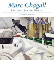 Cover of: Marc Chagall: The Lost Jewish World