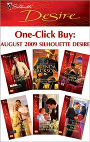 Cover of: One-Click Buy: August 2009 Silhouette Desire |