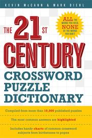 Cover of: The 21st Century Crossword Puzzle Dictionary |