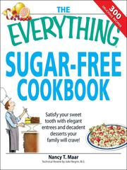 Cover of: The Everything Sugar-Free Cookbook |