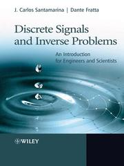 Cover of: Discrete Signals and Inverse Problems