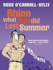 Cover of: Rhino What You Did Last Summer |