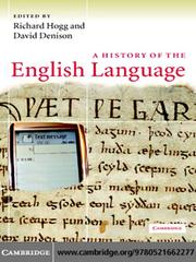 Cover of: A History of the English Language |