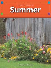 Cover of: Summer |
