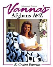 Cover of: Vanna's afghans A to Z