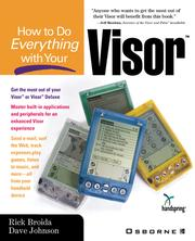 Cover of: How to Do Everything with Your VisorTM |