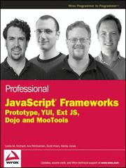 Cover of: Professional JavaScript Frameworks |