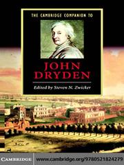 Cover of: The Cambridge Companion to John Dryden |