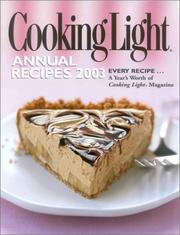 Cover of: Cooking Light Annual Recipes 2003 |