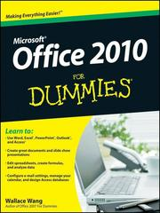Cover of: Office 2010 For Dummies® |