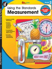 Cover of: Using the Standards - Measurement, Grade 2 |