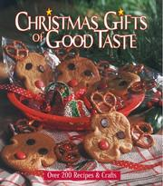 Cover of: Christmas gifts of good taste |
