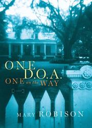 Cover of: One D. O. A., One on the Way |