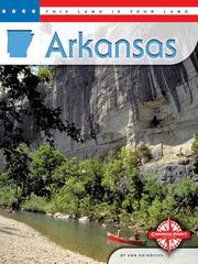 Cover of: Arkansas by Ann R Heinrichs