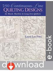 Cover of: 250 Continuous-Line Quilting Designs for Hand, Machine & Long-Arm Quilters |