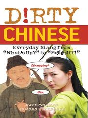 Cover of: Dirty Chinese |
