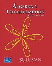 Cover of: Algebra y Trigonometria by Michael Sullivan