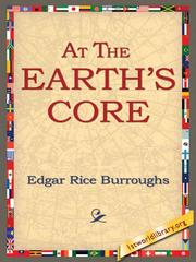 Cover of: At the Earths Core |