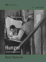Cover of: Hunger |