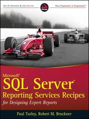 Cover of: Microsoft SQL Server Reporting Services Recipes |