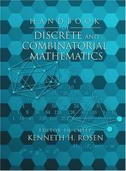 Cover of: Handbook of Discrete and Combinatorial Mathematics | Kenneth H. Rosen