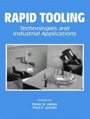 Cover of: Rapid Tooling |