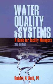 Cover of: Water Quality Systems |