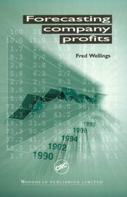 Cover of: Forecasting Company Profits