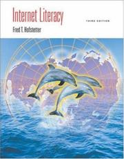 Cover of: Internet Literacy with 30 Day Trial- Front Page 2002 CD-ROM | Fred T. Hofstetter
