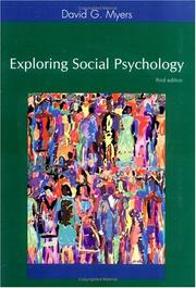 Cover of: Exploring Social Psychology