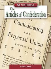 Cover of: The Articles of Confederation |