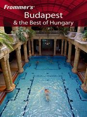 Frommers Budapest & the Best of Hungary
