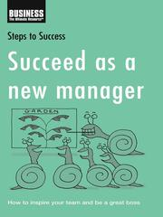 Cover of: Succeed As a New Manager |