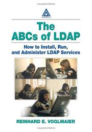 Cover of: The ABCs of LDAP | Reinhard  E. Voglmaier