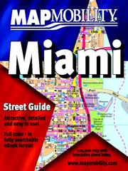 Cover of: MapMobility Miami Street Guide |