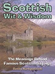 Cover of: Scottish Wit & Wisdom |