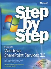 Cover of: Microsoft® Windows® SharePoint® Services 3.0 Step by Step |