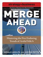 Cover of: Merge Ahead |