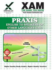 Cover of: PRAXIS English to Speakers of Other Languages (ESOL) 0360 |