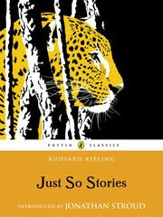 Cover of: Just So Stories |