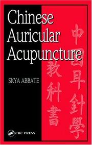 Cover of: Chinese auricular acupuncture