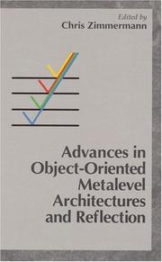 Cover of: Advances in object-oriented metalevel architectures and reflection |