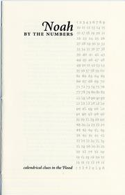 Cover of: Noah by the Numbers