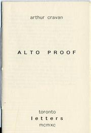 Cover of: Alto Proof