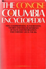 Cover of: The Concise Columbia encyclopedia | Judith S. Levy