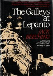 Cover of: The galleys at Lepanto