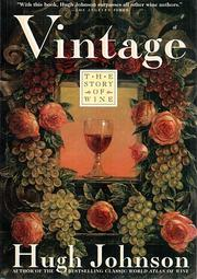 Cover of: Vintage | Hugh Johnson
