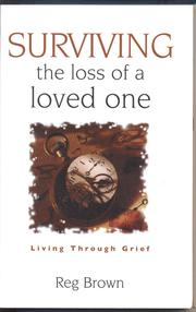 Cover of: Surviving the Loss of a Loved One