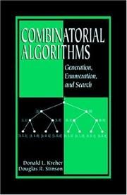 Cover of: Combinatorial algorithms