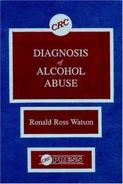 Cover of: Diagnosis of alcohol abuse